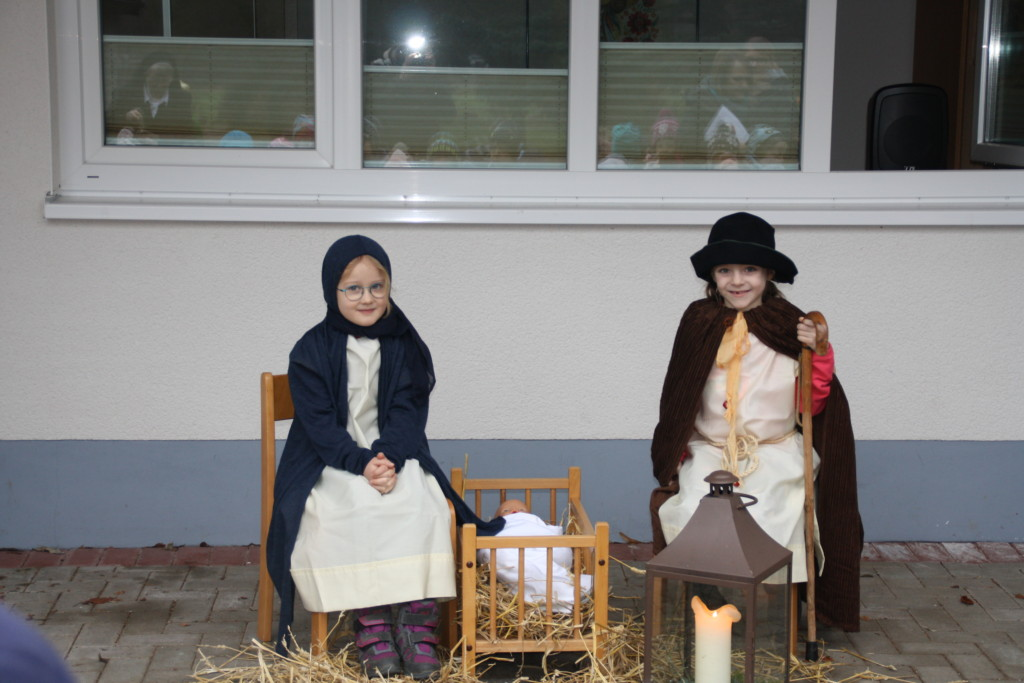 Josef und Maria mit ihrem Jesuskind