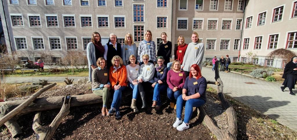 Teamfoto in München