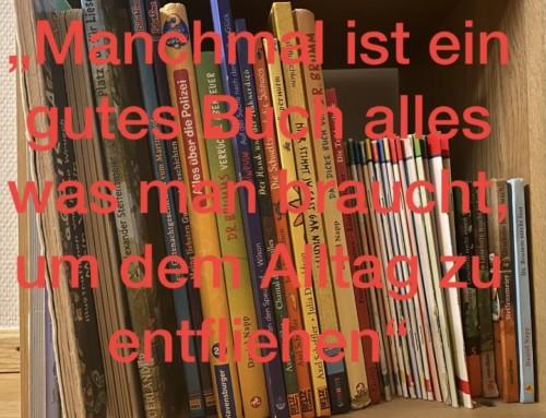Von Büchern, Erinnerungen und gemütlichen Familienmomenten
