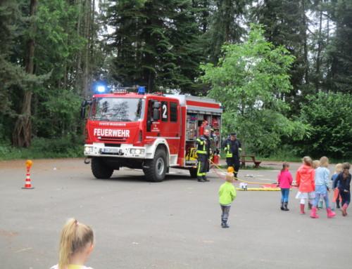TatüTaTa die Feuerwehr war da