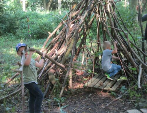 Waldnachmittag am Familienzentrum